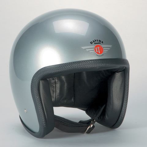 Davida Ninety Two Helmet - Silver - 9 MC