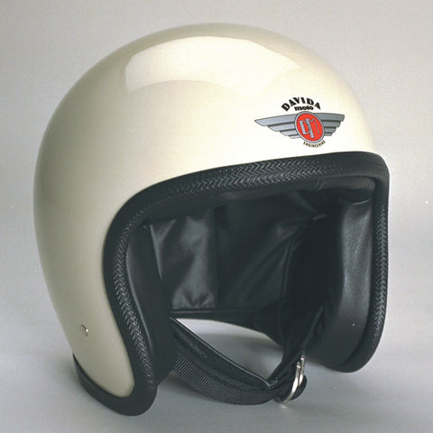 Davida Ninety Two Helmet - Cream - 9 MC