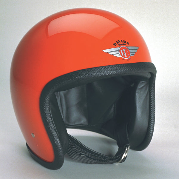 Davida Ninety Two Helmet - Orange - Davida Helmets