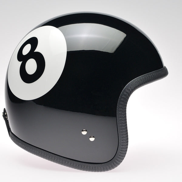 Davida Ninety Two Helmet - Black Eight Ball - Davida Helmets