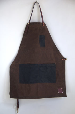 The Charles Apron - waxed canvas apron - Sturdy Brothers Apron