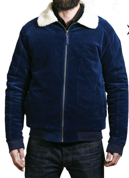 Kytone Blue Sherpa Jacket - Kytone Apparel