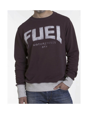 "Fuel Sweatshirt ""Bordeaux"" - Fuel Apparel"