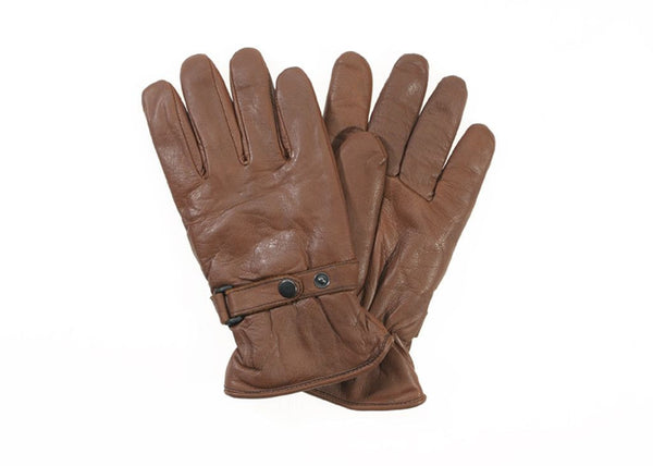 Davida Gloves - Shorty Brown Leather - Davida Gloves