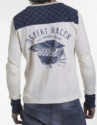 "Fuel T-Shirt ""Desert""  Long Sleeve - Fuel Apparel"