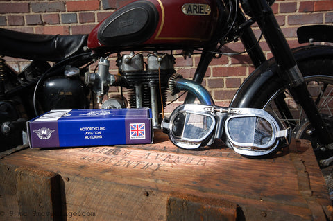 4330267213 Motorcycle Goggles for Vintage Motorcycle Riders – 9 MC Vintage