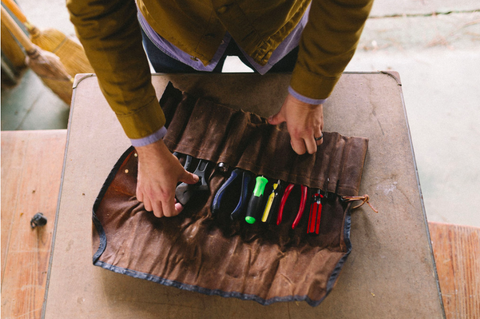 Orville Tool Roll - Sturdy Brothers Accessories