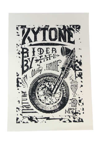 Kytone Poster Silkscreen Art - Kytone Accessories