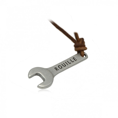 Rouille KeyRace Pendant - Brown Leather - Rouille Pendant