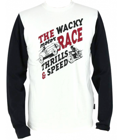Kytone WACKY RACE Vintage Long Sleeve Tee - Kytone Apparel