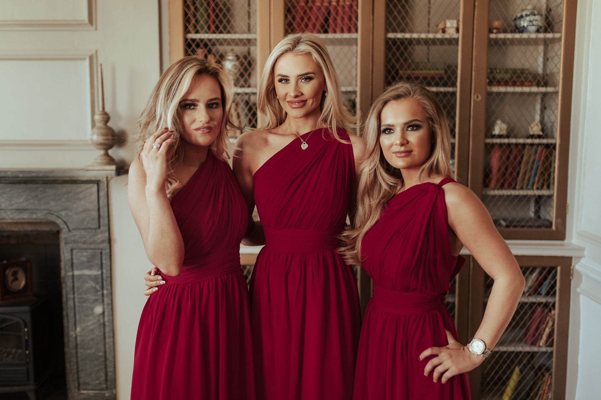 The One Shoulder Chiffon Bridesmaid Dress, Brooklyn!