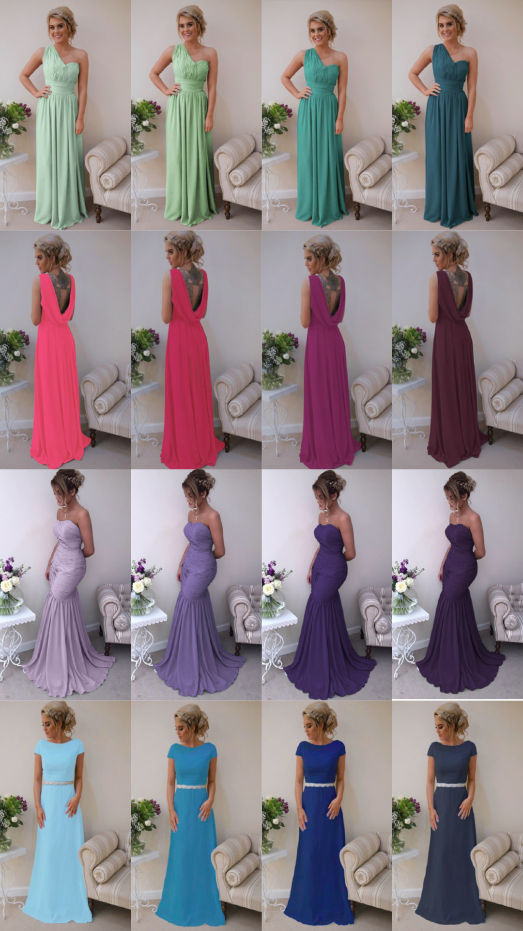 Custom Made Bridesmaid Dresses UK