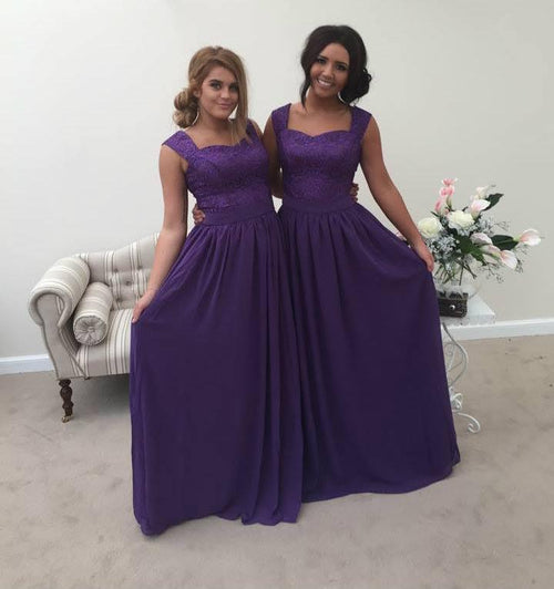 Charlotte Two Shoulder Lace Bridesmaid Dress - That Special Day Bridal Warehouse