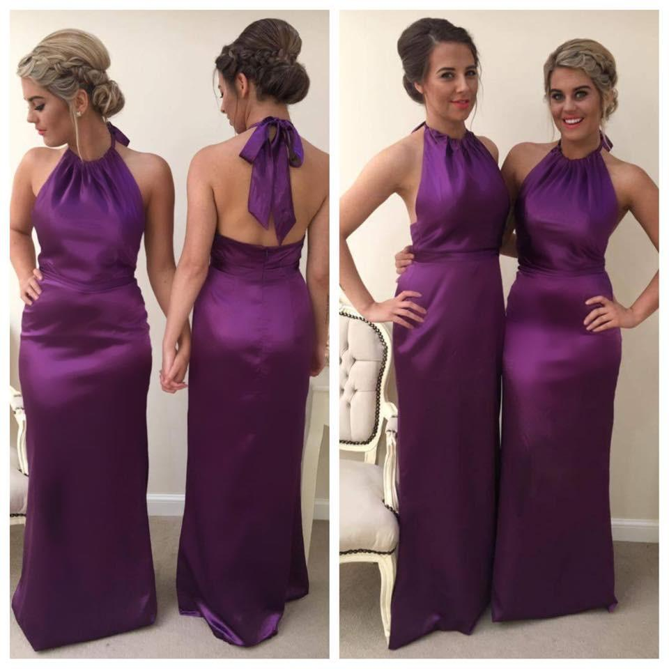 Lola | Halterneck Bridesmaid Dress - That Special Day Bridal Warehouse