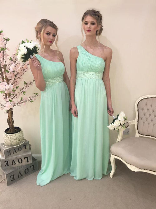 Leah | One Shoulder Bridesmaid Dress Plus Size - That Special Day Bridal Warehouse