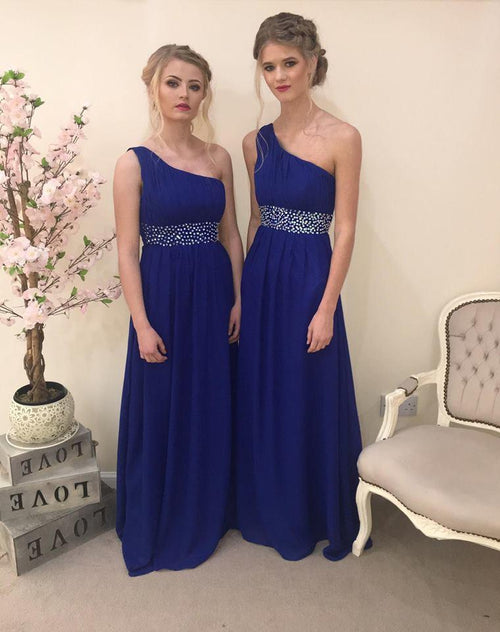 Leah | One Shoulder Bridesmaid Dress - That Special Day Bridal Warehouse