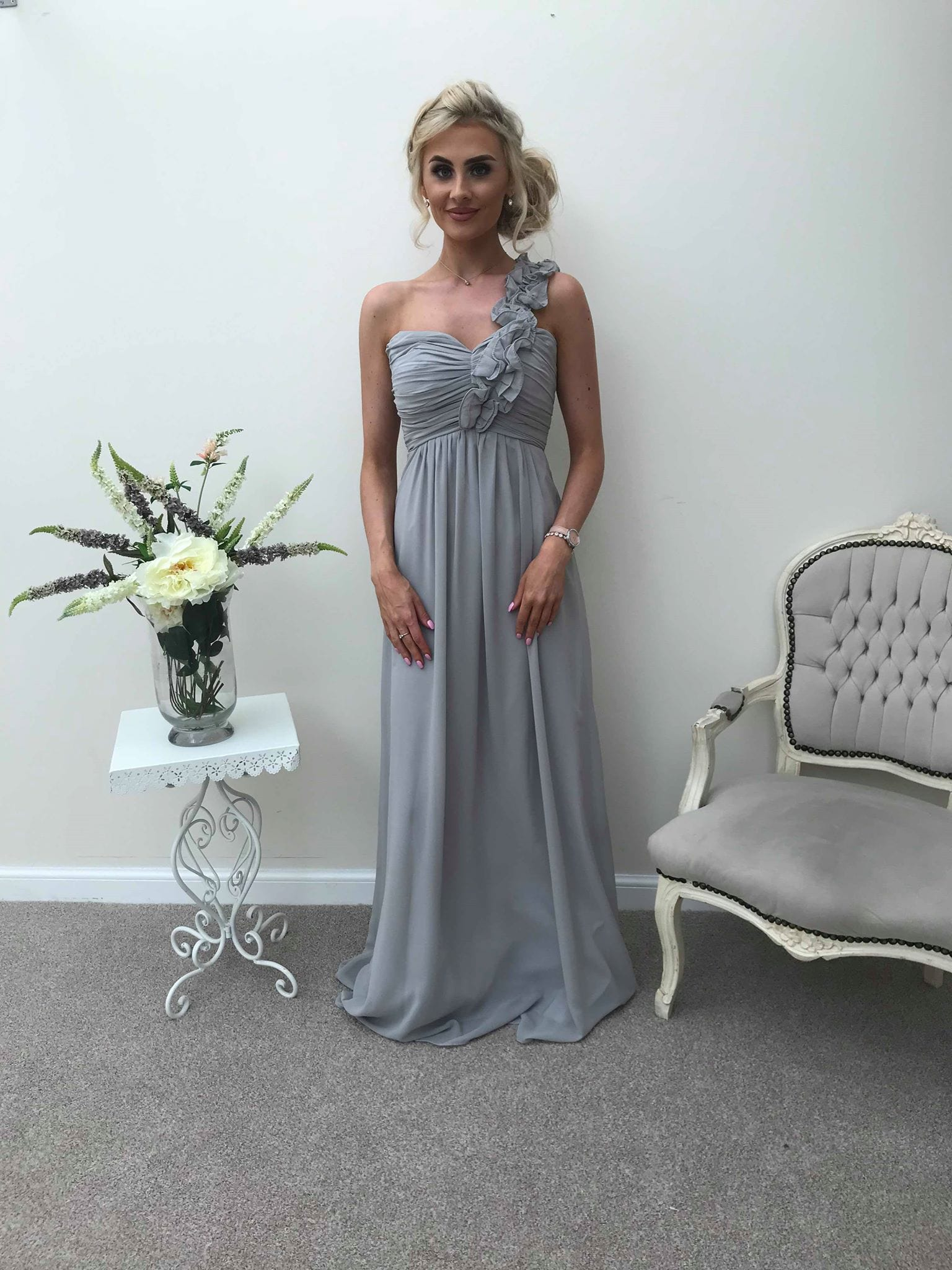 Eve | One Shoulder Bridesmaid Dress - That Special Day Bridal Warehouse