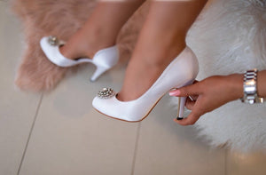 Adélie Vintage Bridal Shoes