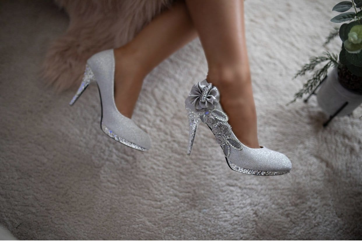 Florentina Crystal Gem Shoes
