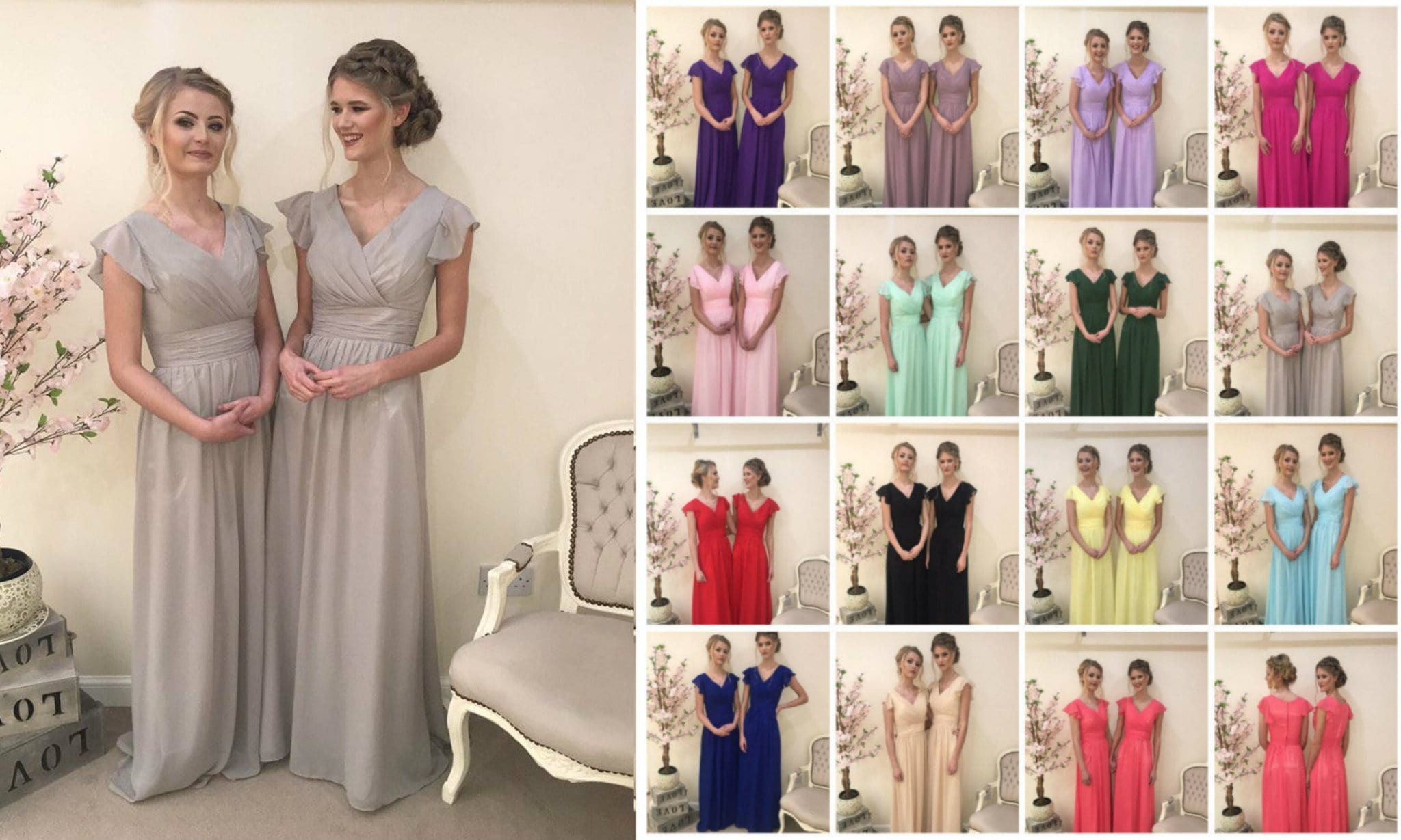 Layla Capped Sleeve Vintage Plus Size Bridesmaid Dress - That Special Day Bridal Warehouse