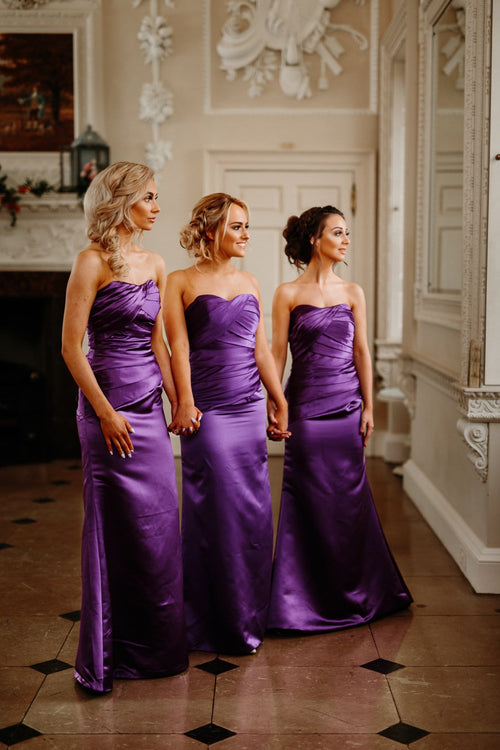 Lucy | Strapless Bridesmaid Dress Plus Size - That Special Day Bridal Warehouse