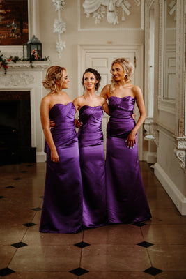 Lucy Satin Bridesmaid Dress