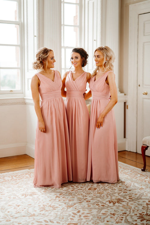 Pippa | V Neck Bridesmaid Dress - That Special Day Bridal Warehouse