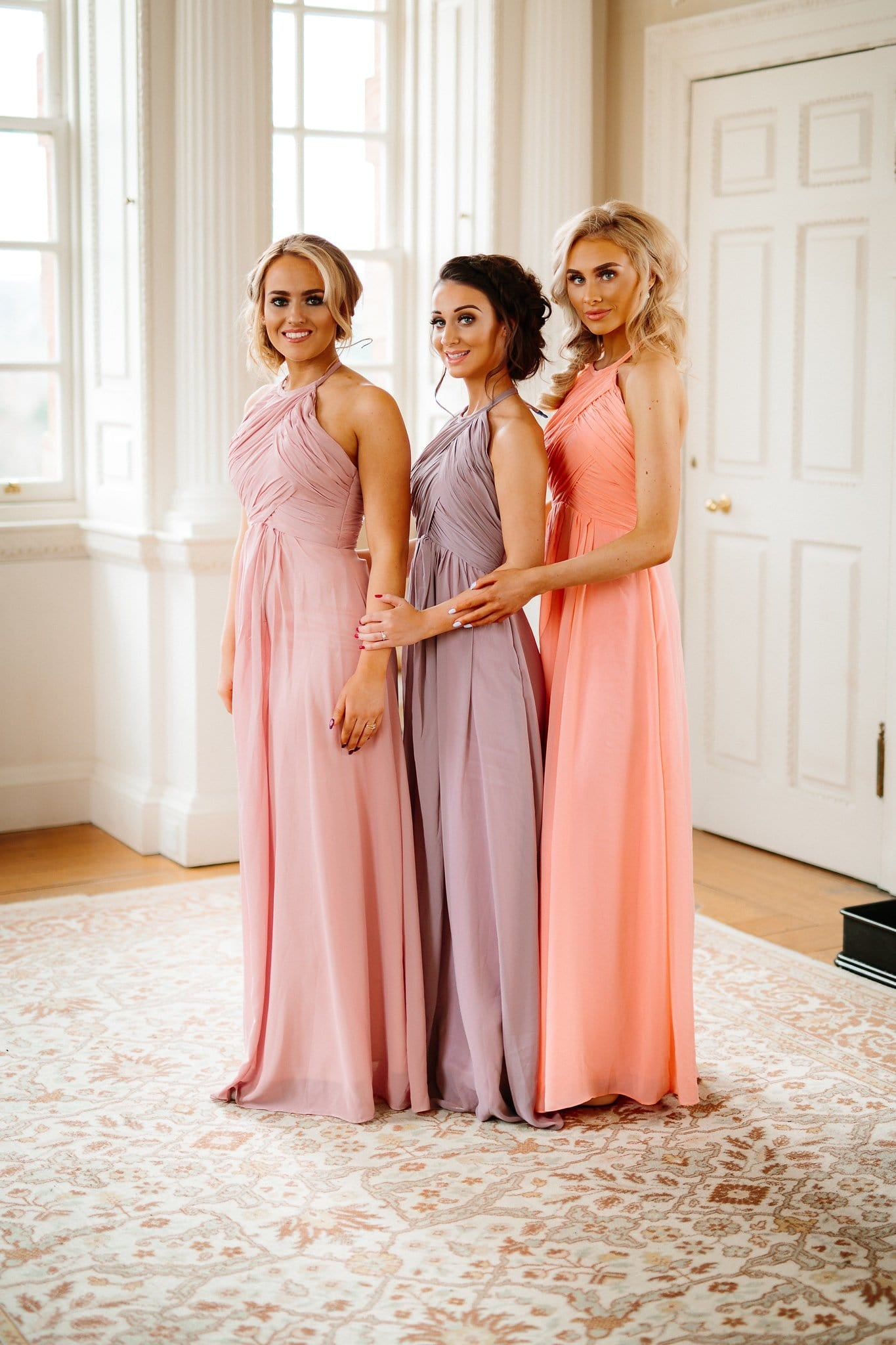 Meadow Dress | Halter Neck Roushin Chiffon Bridesmaid Dress - That Special Day Bridal Warehouse