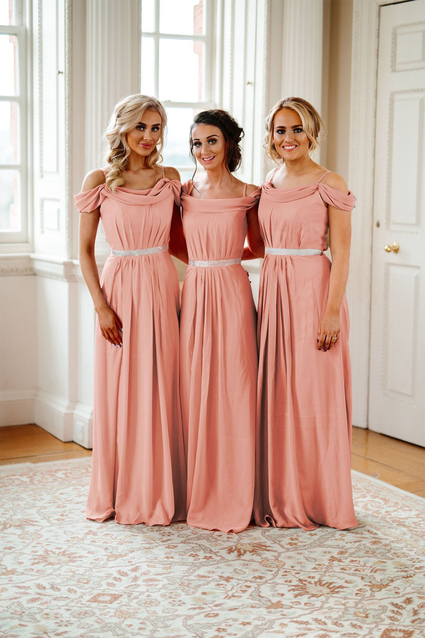Abigail | Off The Shoulder Bridesmaid Dress - That Special Day Bridal Warehouse