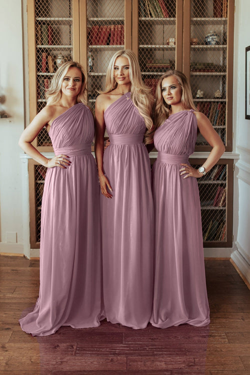 Brooklyn | One Shoulder Bridesmaid Dress Plus Size - That Special Day Bridal Warehouse