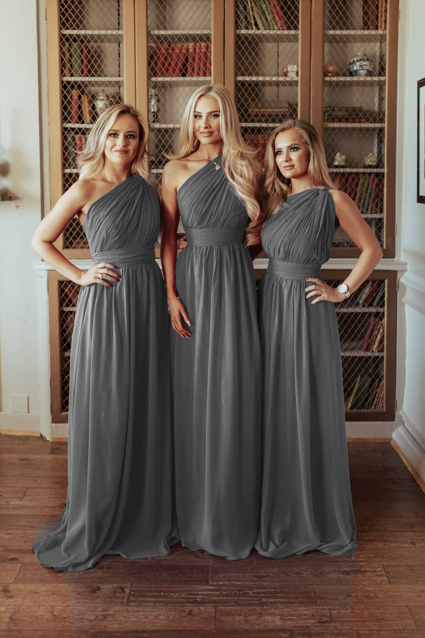 Brooklyn One Shoulder Plus Size Bridesmaid Dress