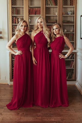 Brooklyn One Shoulder Bridesmaid Dress