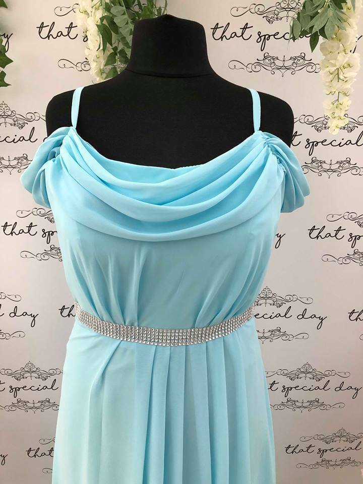 Abigail Plus Size Off Shoulder Bridesmaid Dress