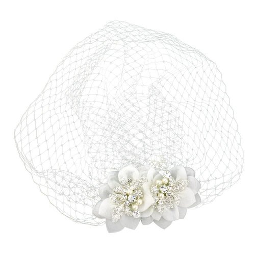 Vivienne Birdcage Veil - That Special Day Bridal Warehouse