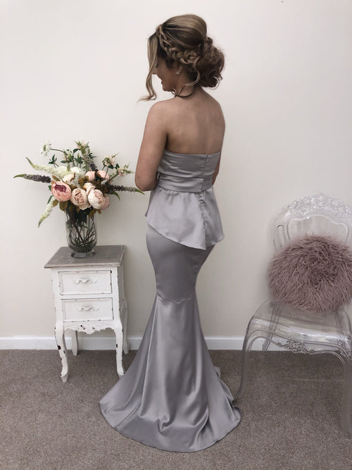 FLEUR SILVER - That Special Day Bridal Warehouse