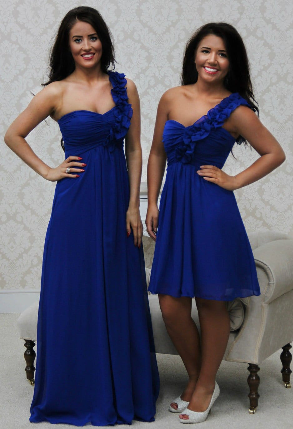 EVE SHORT ROYAL BLUE - That Special Day Bridal Warehouse