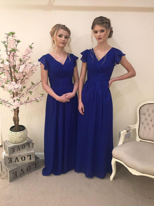 Layla | Cap Sleeve Bridesmaid Dress Plus Size - That Special Day Bridal Warehouse