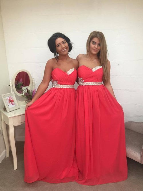 ELLA LONG CORAL - That Special Day Bridal Warehouse