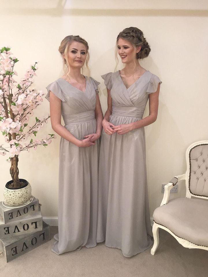 Layla | Cap Sleeve Bridesmaid Dress - That Special Day Bridal Warehouse