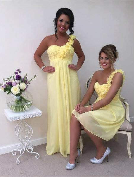Eve One Shoulder Ruffle Plus Size Bridesmaid Dress - That Special Day Bridal Warehouse