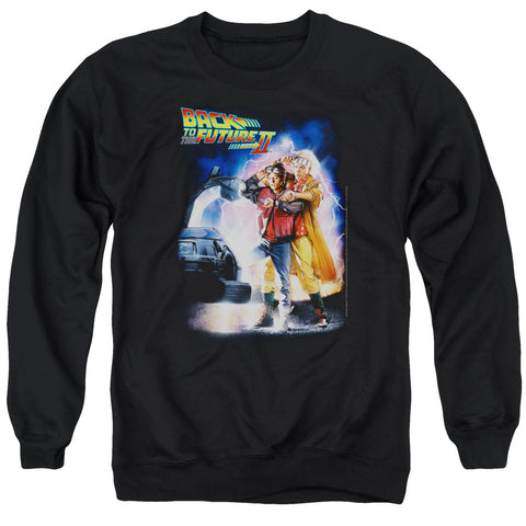 Back To The Future Ii - Poster Adult Crewneck Sweatshirt
