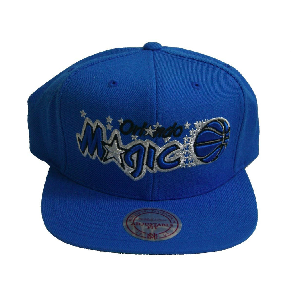 NBA Mitchell & Ness Orlando Magic Wordmark Snapback Cap Blue