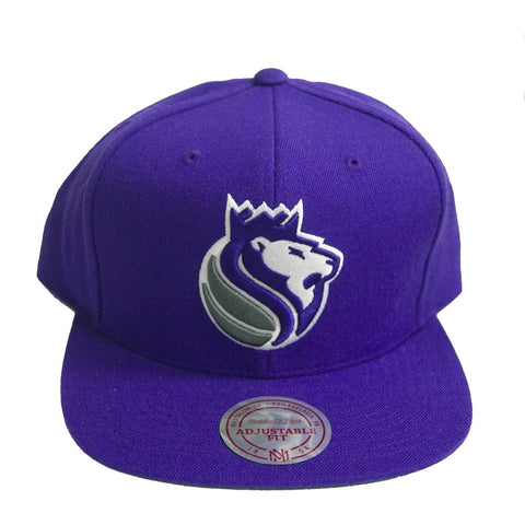 NBA Mitchell & Ness Sacramento Kings Snapback Cap Purple
