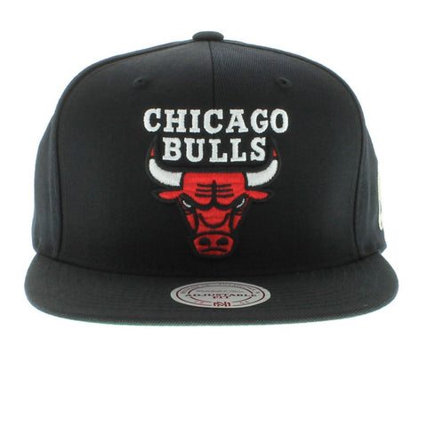 Mitchell & Ness Chicago Bulls The Solid Snap ( Grey Bottom ) SNAPBACK HAT