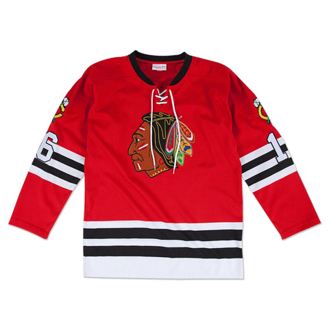 Mitchell & Ness Bobby Hull 1960-1961 Authentic Jersey Chicago Blackhawks In Scarlet