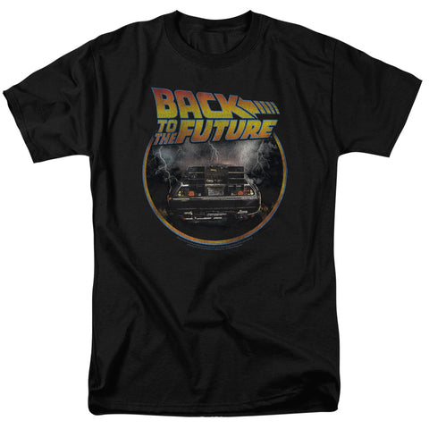Back To The Future - Back Short Sleeve Adult 18/1