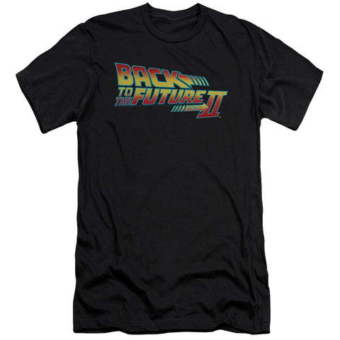 Back To The Future Ii - Logo Premium Canvas Adult Slim Fit 30/1