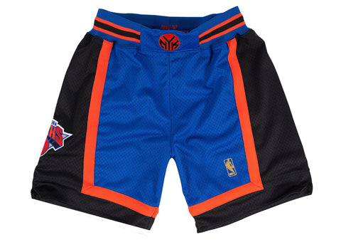 New York Knicks 1996-1997 NBA Authentic Shorts