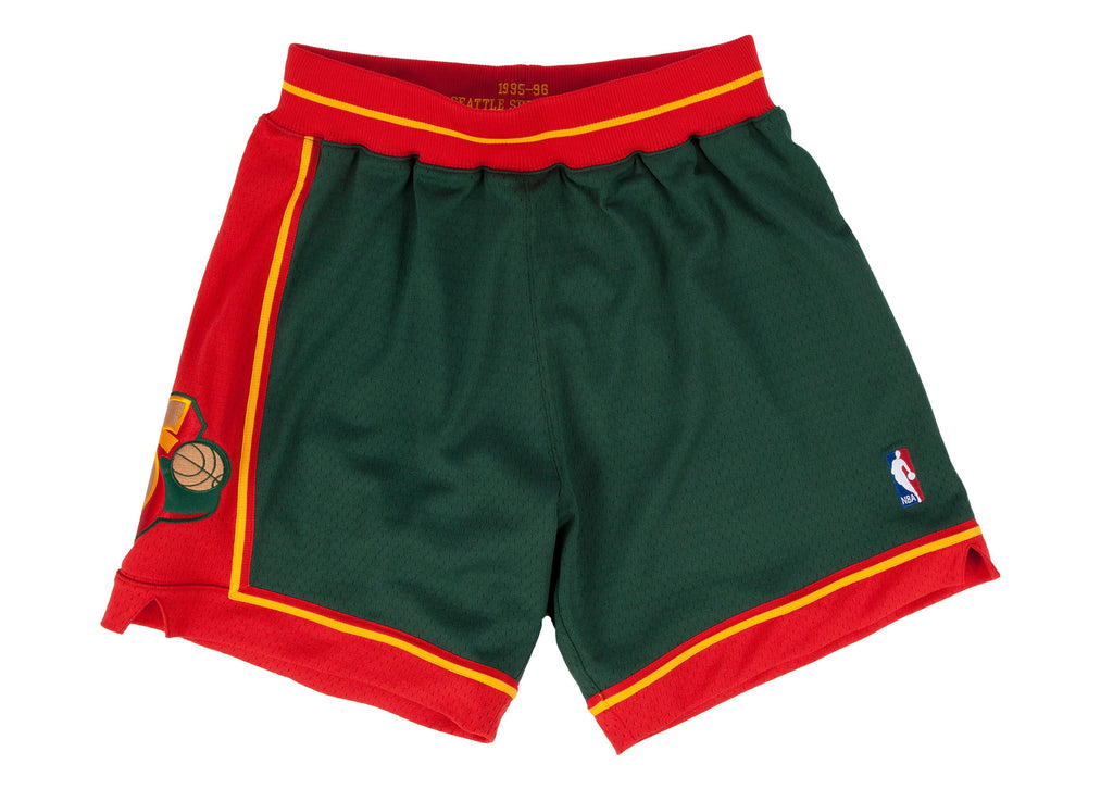 Mitchell & Ness Seattle SuperSonics 1995-1996 NBA Authentic Shorts