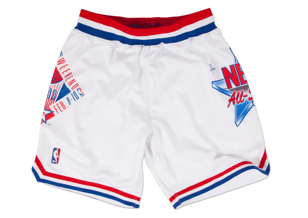 1991 NBA All Star Game NBA Authentic Shorts